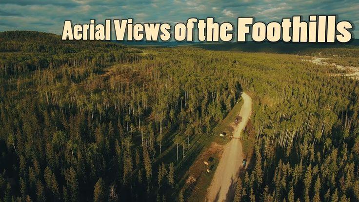 Aerial Views of the Alberta Foothills | Journey Alberta