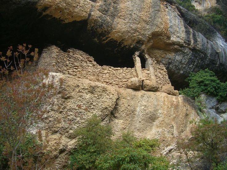 Antiga ermita de Sant Salvador (Margalef)