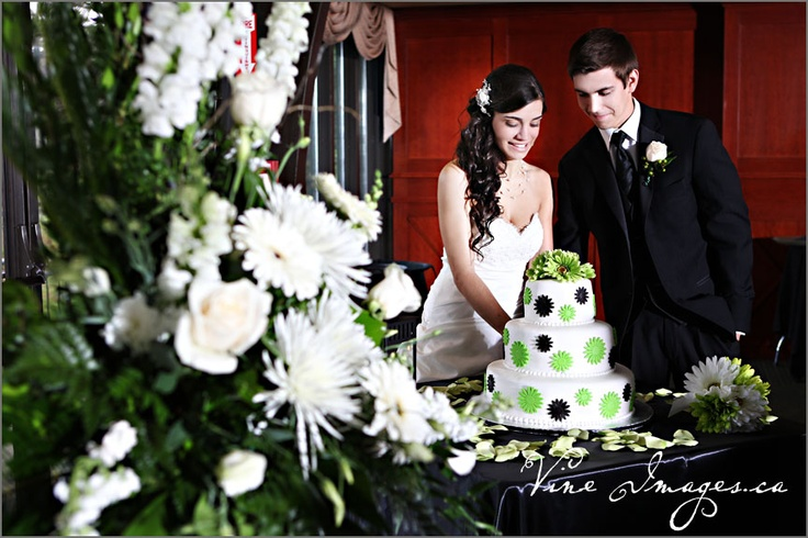 """Amazing """"pop'"""" of colour on the cake. Photos by Vine Images"""