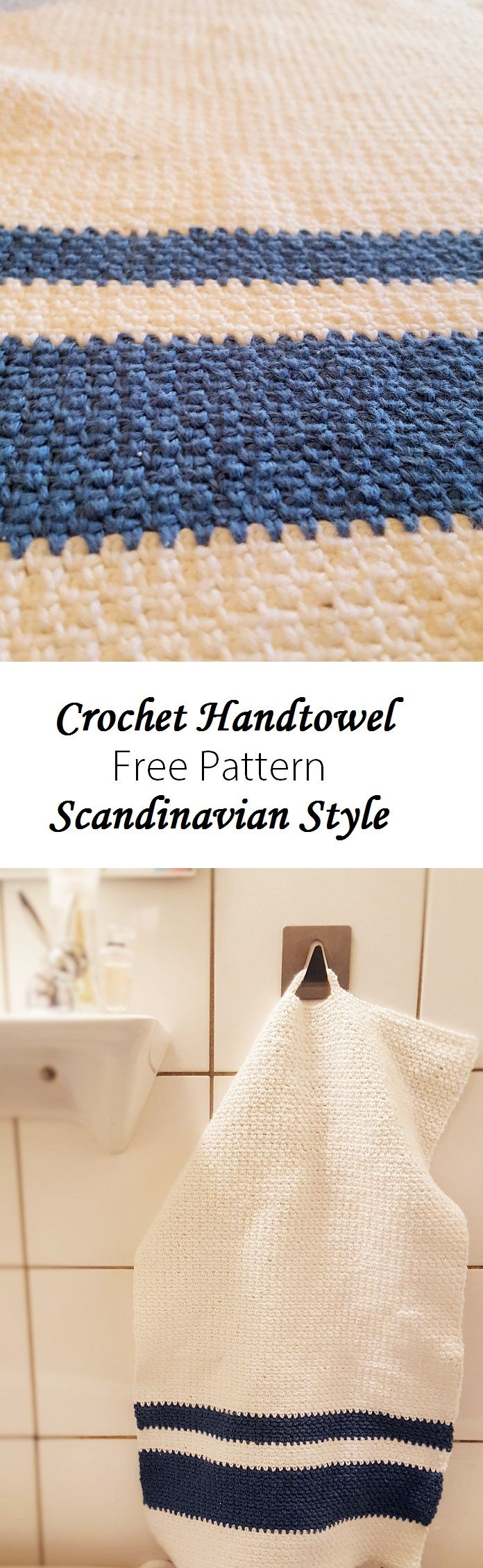So pretty! Love the Scandinavian style of the handtowel.