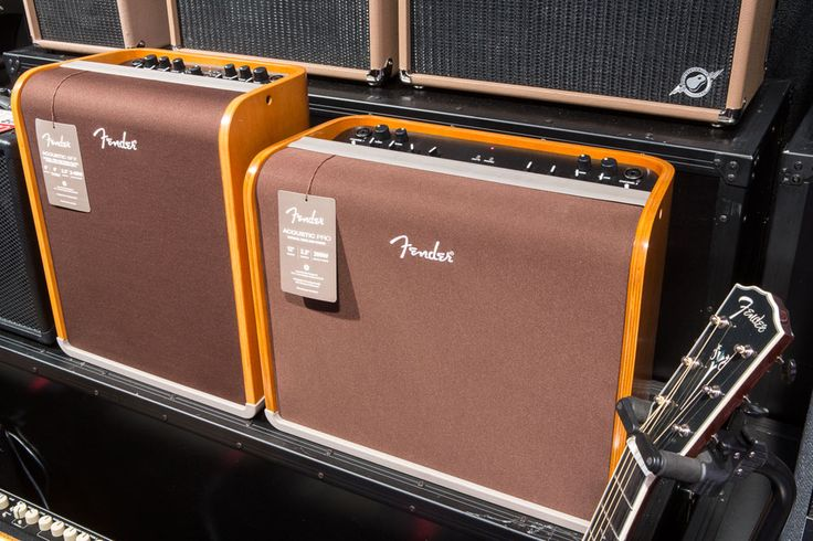 Acoustic Pro On several occasions, Nashville-based artist Patrick Sweany delivered his powerfully soulful rock with nothing but a Fender Paramount guitar and a Fender Acoustic Pro. The guitar really sang when plugged into the amp, allowing Sweany to let his acoustic personality truly shine.  Acoustic SFX Another acoustic amp offered by Fender is the acoustic SFX, which features state-of-the-art technology that delivers a breathtaking surround-sound effect.