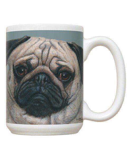 Look at this Pug Mug on #zulily today!