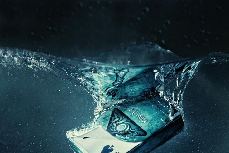 "| Fathom Playing Cards by Ellusionist |  ""A strange twilight world opened up before me, and I felt as the first man to set foot on another planet, an intruder in this mystic garden of the deep.""   - Jules Verne, 20000 Leagues Under The Sea."