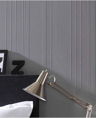 Simple, textured and timeless #walls #grey