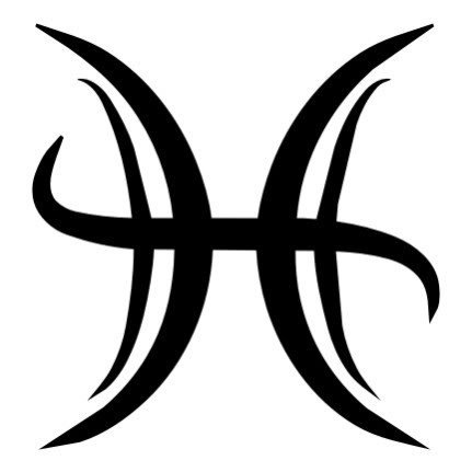 Pisces sign - if I ever had to pick a tattoo. Not quite fashion, but put It in this category anyway.