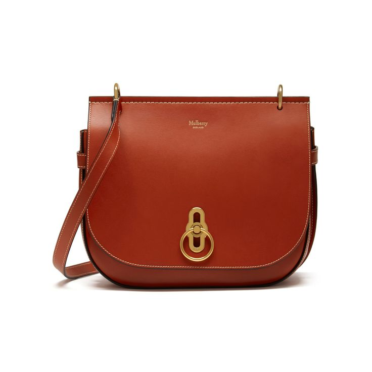 Inspired by British countryside pursuits, Amberley Satchel from Mulberry.