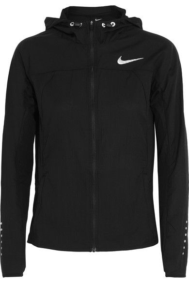 Nike - Hooded Shell Jacket - Black - x large