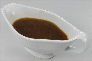 Brun sauce/sovse  ( Fedtfattig ) 4