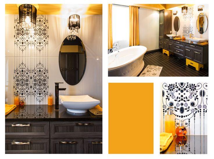 Voici des concepts uniques comme vous!! Salle de bain glamour