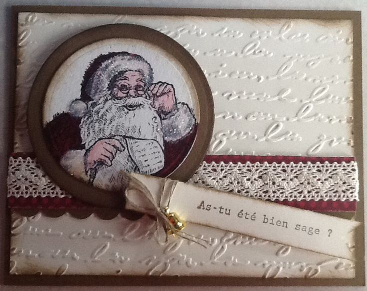 Père Noël, Stampin Up!