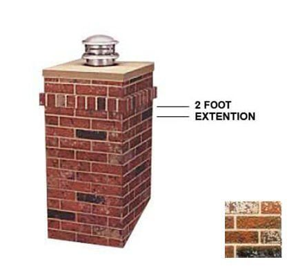 R-Co 302-1317-U Square Kit 2 ft. Extension by R-Co. $160.70. Great Gift Idea.. Design is stylish and innovative. Satisfaction Ensured.. Item Height: 24. Item Length: 23.5. Item Width: 23.5. Square Kit 2' Extension - Add an additional two feet to R-CO's Square Steel Chimney Surround,whether you want to make a statement with a tall chimney or your home has particularly tall chimney. No one will be able to miss the dramatic effect this chimney housing will add to your roof ...