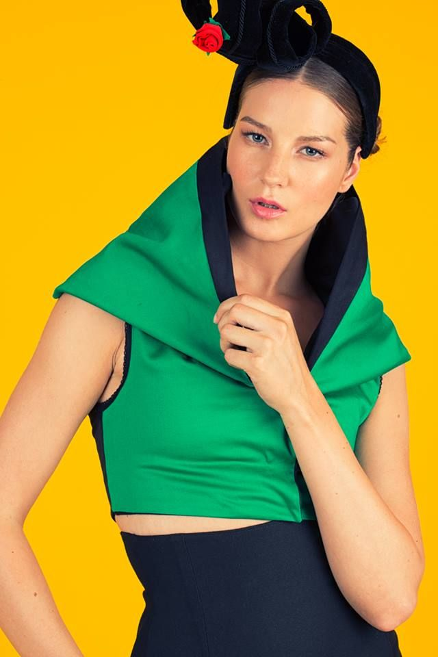 Design- Alexandra Dohmen  ( www.alexandradohmen.nl ) Model- Rebecca van den Oetelaar MUAH- Lina Valciukaite Styling- Dieudonnee Bouwman Fotograaf- Salvador Pozo