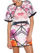 Alice McCall Short Sleeve Mystic Topaz Dress $369.00 #davidjones #trend #fashion #style #floral #florals #print #spring #love #romance