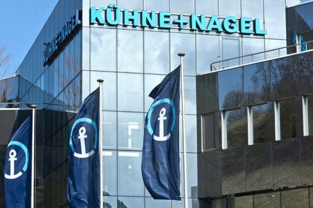 Kühne Nagel a vu son bénéfice progresser
