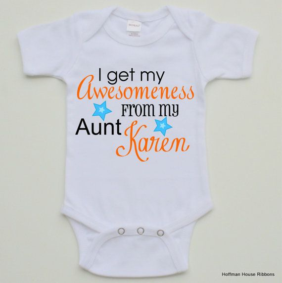 80 best baby auntie clothes images on pinterest auntie babies personalized aunt baby boy bodysuit on etsy 1490 negle Image collections