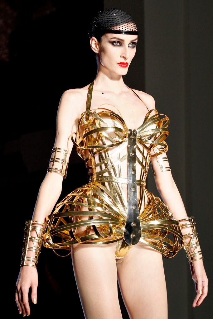 Fembot, Space Angel?? - Jean Paul Gaultier Couture 2012