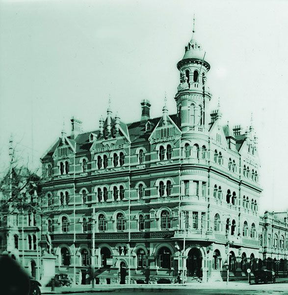 Lost Perth -- Moir Chambers - 1929