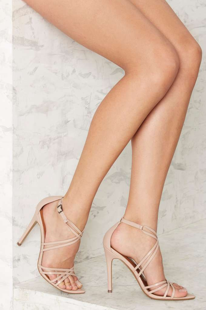Nasty Gal Santana Strappy Heel - Nude | Shop Shoes at Nasty Gal!