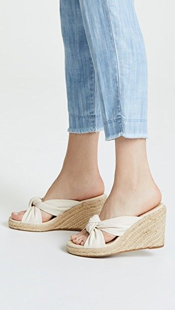 117671e9f Knotted Wedge Espadrilles in 2019 | Kick up your heels | Espadrilles ...