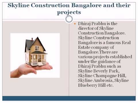 Skyline Construction Bangalore and their successful projects