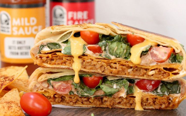 Copycat Crunchwrap Supreme [Vegan] | One Green Planet