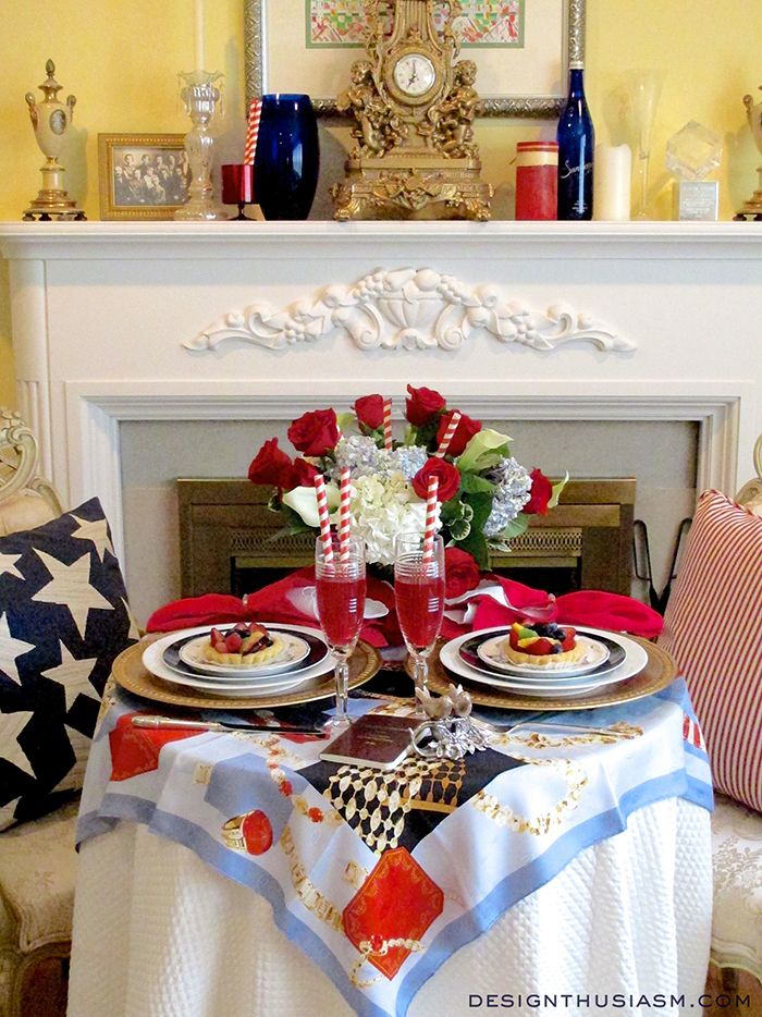 memorial day tablescape ideas