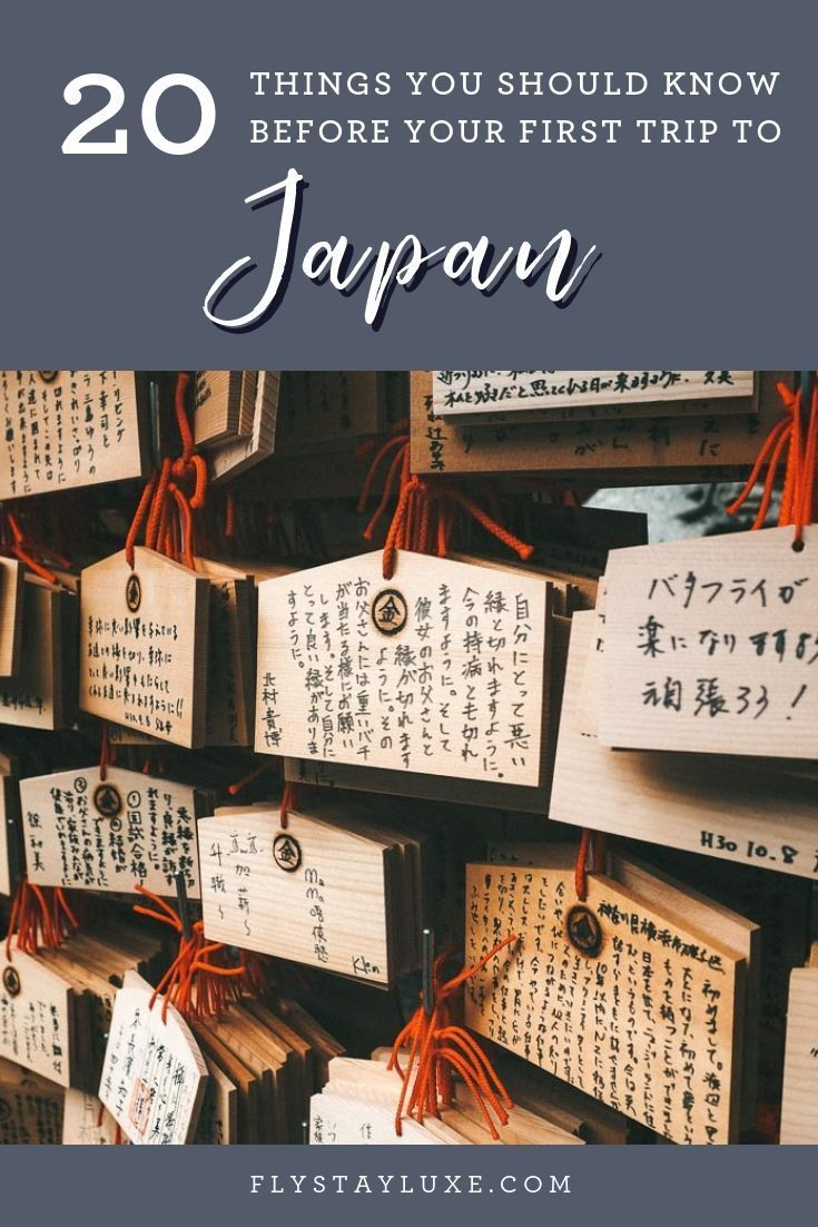 20 Travel Tips For First Time Travellers To Japan Japan Travel