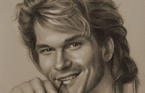 40 disegni di celebrità realizzati a mano libera