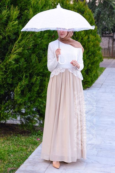 Hijab occasional dress Suitable for wedding, graduation. Lace maxi dress