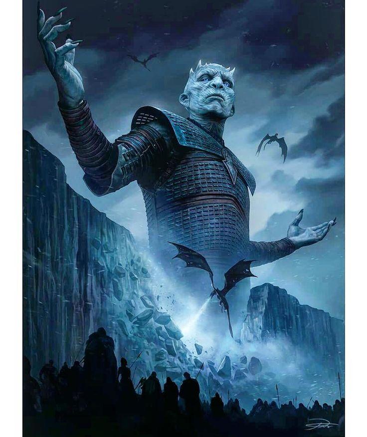 ||The Night King fanart by @yinyuming \  /  \  /  \  /  \ #gameofthrones #fanart #winterishere #got #hbo #series #tvshow #love #drogon #targaryen #fireandblood #daenerystargaryen #westeros #stark #lennister #cersei #jaime #jonsnow #aryastark #sansastark #branstark  #jonarys #tyrion #whitewalkers #winterfell #photooftheday #tbt #likethis #folowme #instagood