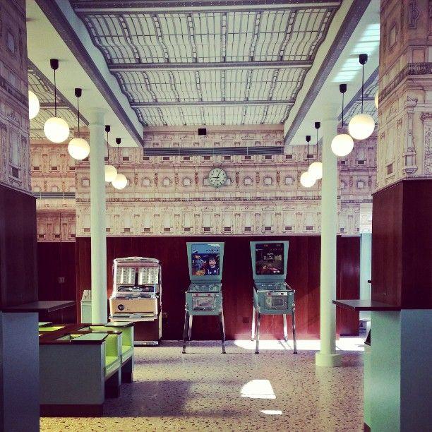 Bar Luce at the Fondazione Prada in Milano #fondazioneprada #tasty #wesanderson