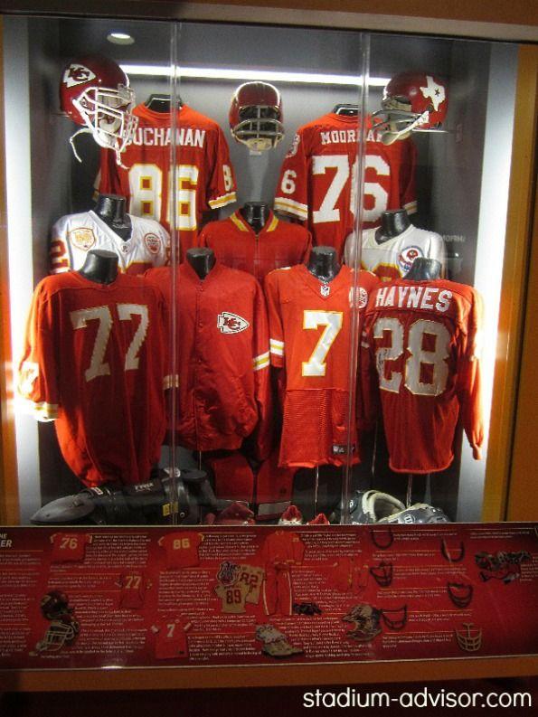 Kansas City Chiefs jerseys through the years http://www.stadium-advisor.com/kansas-city-chiefs-schedule.html