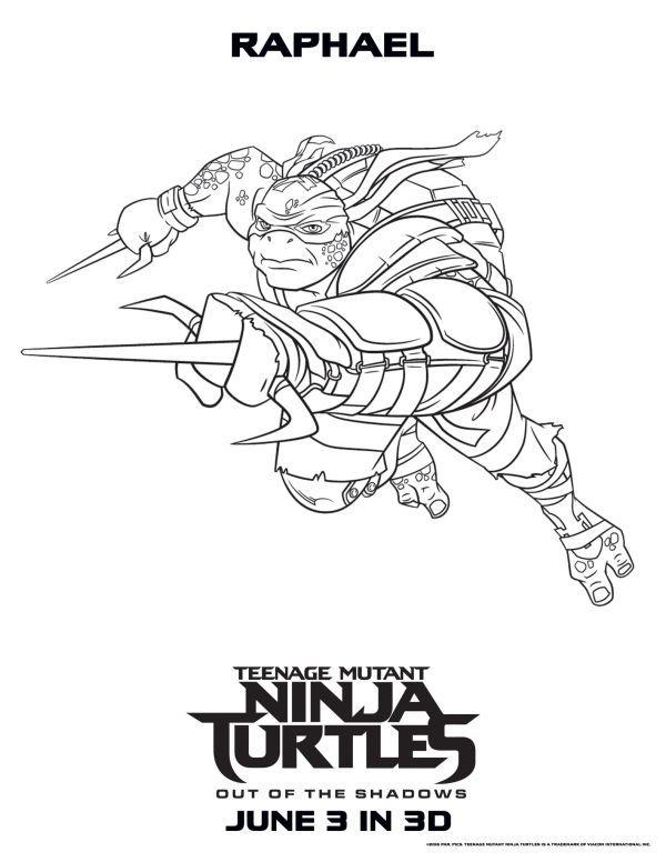 Raphael Teenage Mutant Ninja Turtles Coloring Pages Turtle Coloring Pages Raphael Ninja Turtle Ninja Turtle Coloring Pages