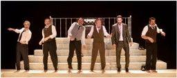 Representació de Lehman Trilogy, d'Stefano Massini   Teatre Auditori de Sant Feliu de Guíxols 18 de març