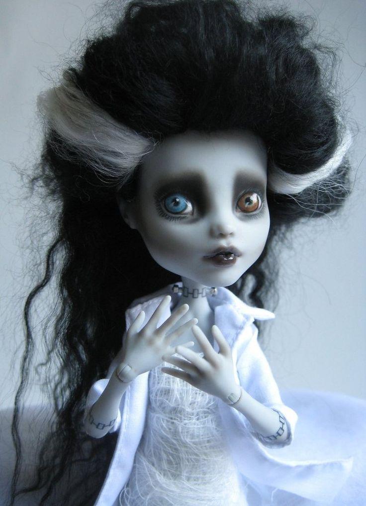 Monster High Custom Doll Repaint