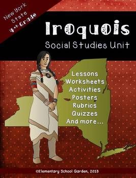 Iroquois Unit - New York Native Americans of the Eastern Woodlands