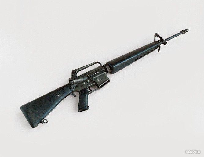 5.56mm 콜드 M16소총