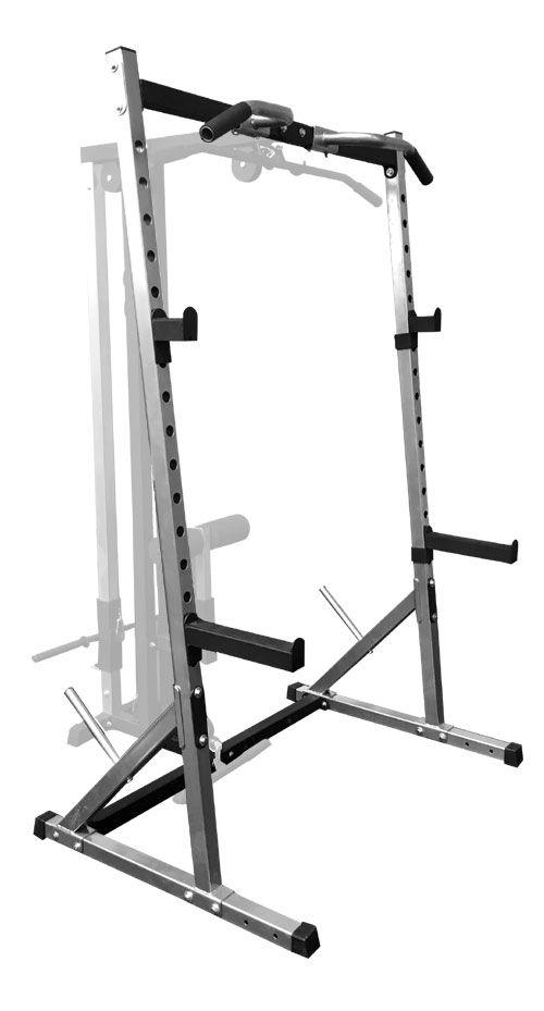Body Iron Half rack / Squat Rack S1 - World Fitness