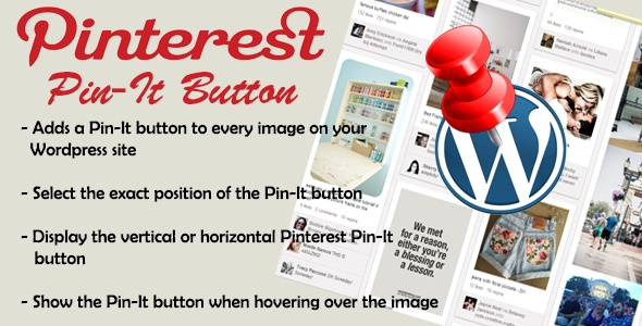 Pinterest Pin It Button Plugin