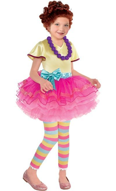 9910007896d58b The Fancy Nancy Costume for girls includes a tutu dress, leggings, and a  necklace. Your child will look extra posh dressed up as Fancy Nancy!