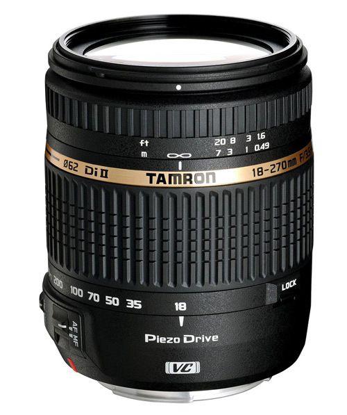 Tamron 18 - 270mm linse til kamera