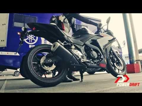 Yamaha R25 Exhaust Note: PowerDrift - YouTube