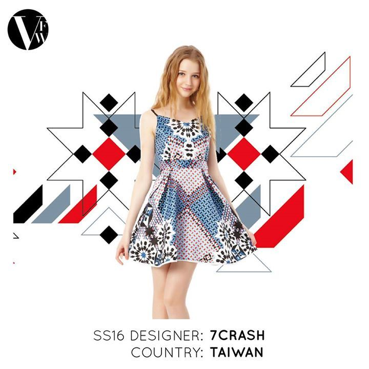 """Crash"" aims to enlighten people's imagination and unbind the existing framework. Enchi's design reflects this belief. 7Crash also believes in fine quality and uniqueness. Read more about the designer here: http://vanfashionweek.com/7crash/"