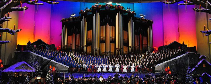 Information on the upcoming Mormon Tabernacle 2014 Choir Christmas Concert and release of the video of 2013 Christmas concert video.