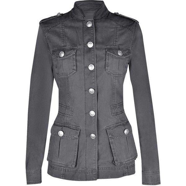 Ladies Military Style Summer Jacket