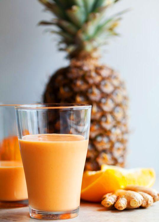 Vegetarian Recipes: Tropical Sunshine Smoothie