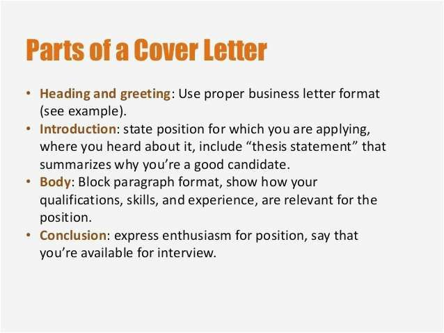 Proper Heading For A Cover Letter from i.pinimg.com