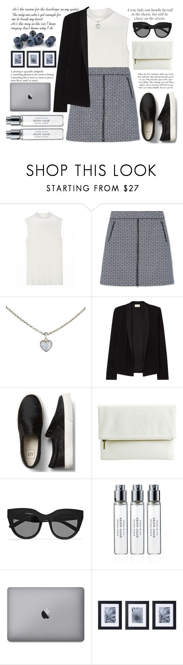 """He's the reason for the teardrops on my guitar"" by itaylorswift13 ❤ liked on Polyvore featuring Tory Burch, Cartier, American Vintage, Armani Exchange, Le Specs, Byredo and Mikasa"