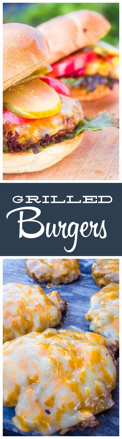 Grilled with ingredients like shallots, Dijon mustard and Worcestershire sauce . These burgers will hold flavor and juices in no matter how well done!