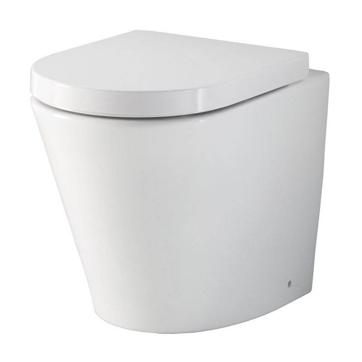 Arc back to wall toilet from Victoria Plumb